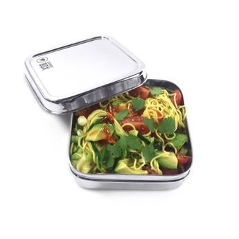 Elephant box square stainless steel lunch/salad box