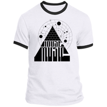 House Music Pyramid Ringer Tee