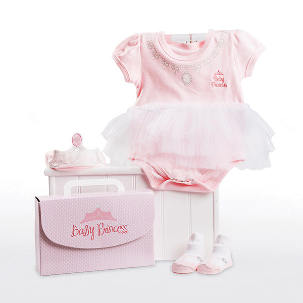 Baby Princess Layette Set in Themed Gift Box