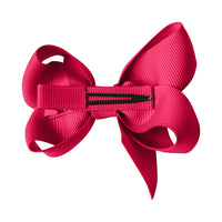 Medium Boutique Bow Hairband - Azalea