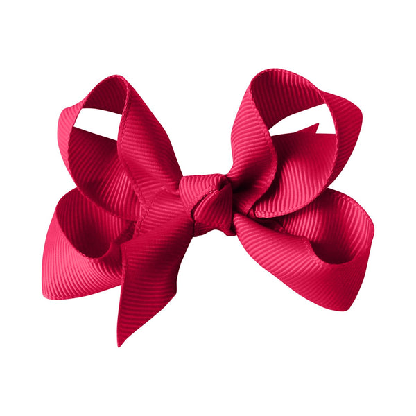 Medium Boutique Bow Clip - Azalea
