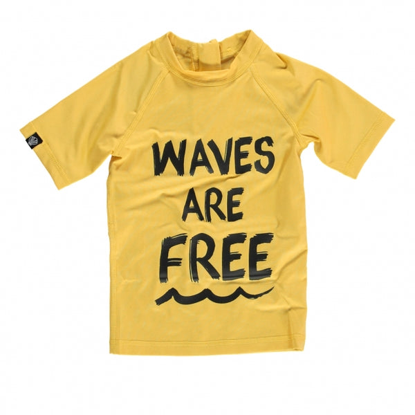 Waves are Free Rash Guard
