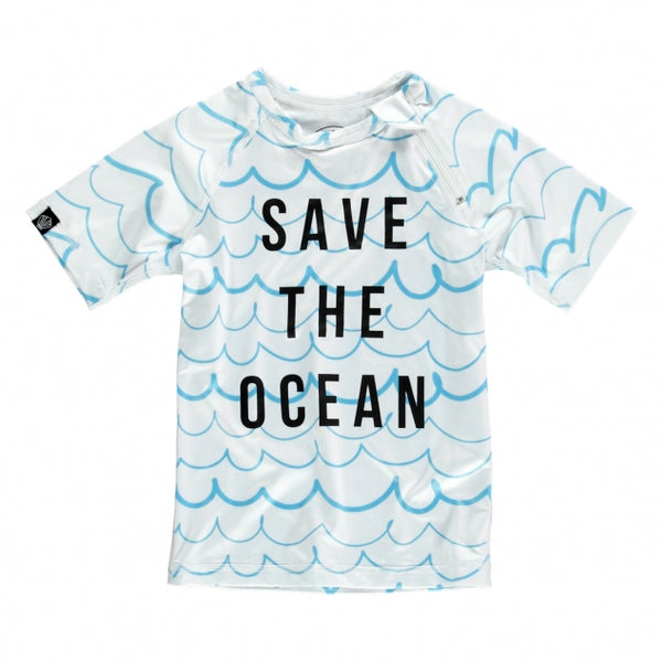 Save the Ocean Rash Guard