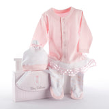 Baby Ballerina Layette Set in Studio Gift Box