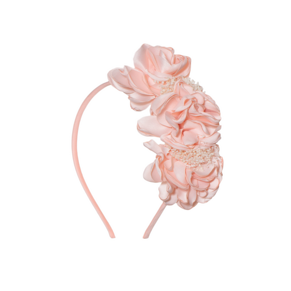 Pale Pink Floral Headband