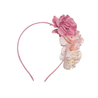 Ombre Pink Floral Headband