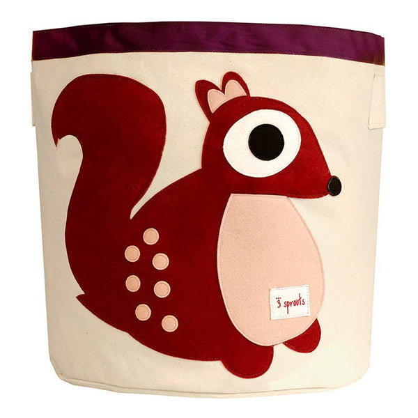 Storage Bin - Squirrel