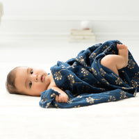 3-Pack Swaddles - Metallic Gold Deco