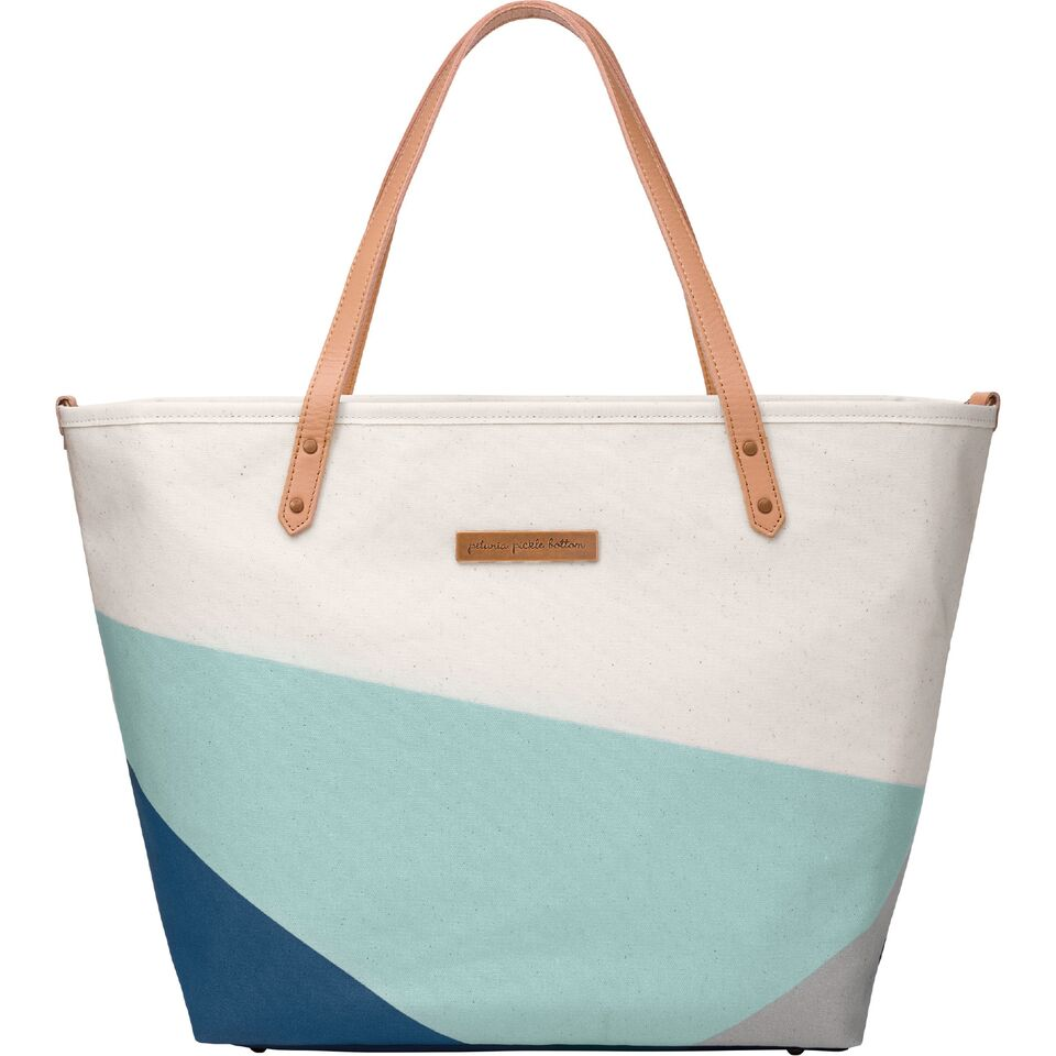 Downtown Tote - Birch/Fjord