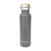 Montii Insulated Water Bottle - Grey