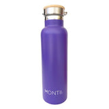 Montii Insulated Water Bottle - Purple