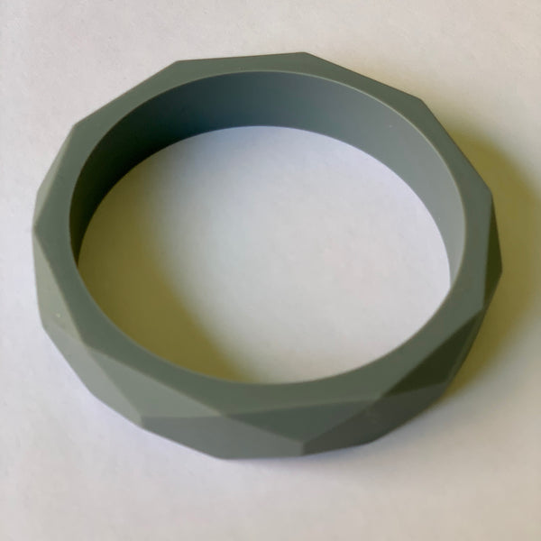 Teething Bangle - Grey