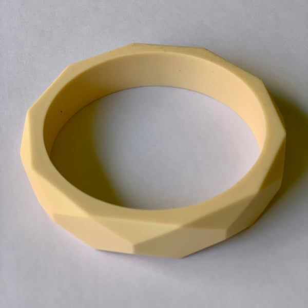 Teething Bangle - Cream