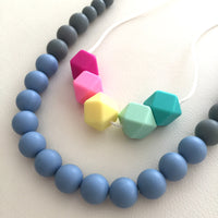 Teething Necklace - Multi Color