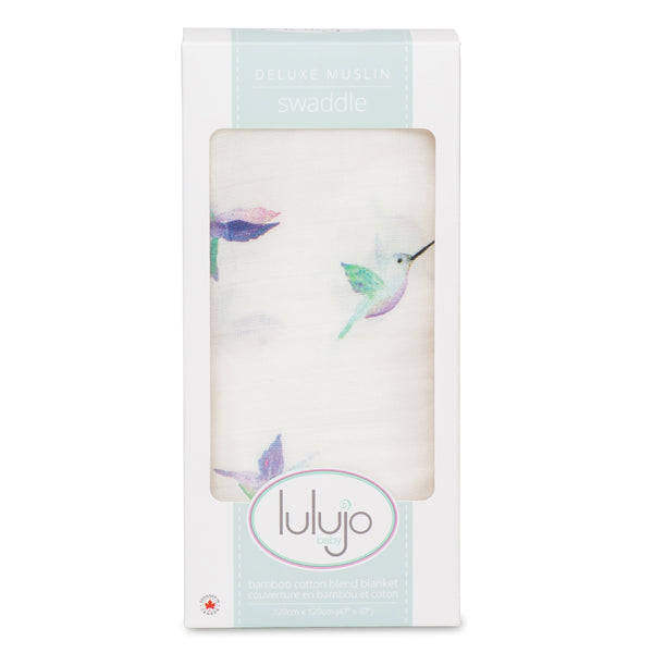 Muslin Swaddle - Hummingbird