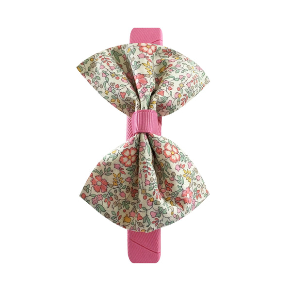Medium Boutique Hairband - Liberty with Wild Rose