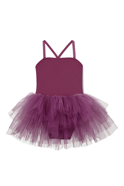 Tutu Dress - Vera Purple