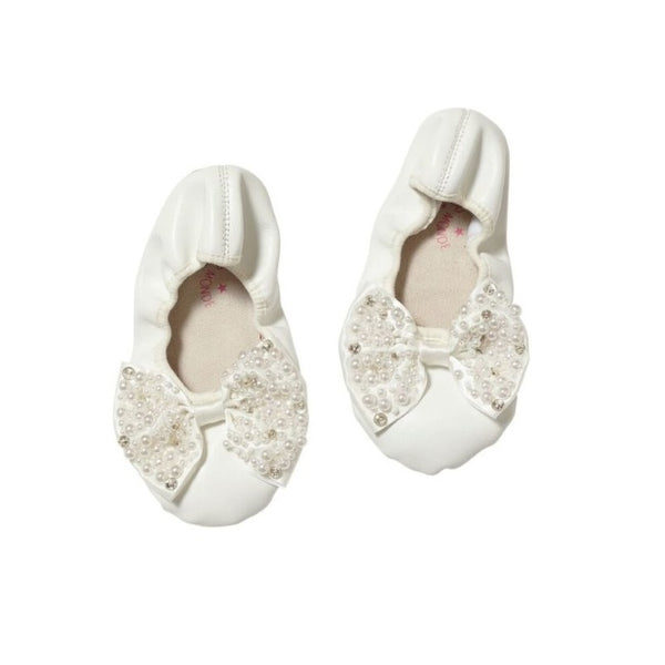 Be My Pearl Ballet Flats - Milk