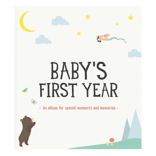 Baby's First Year Photo Album