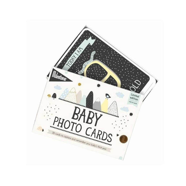 Baby's First Year Photo Cards - Over The Moon Limited Edition