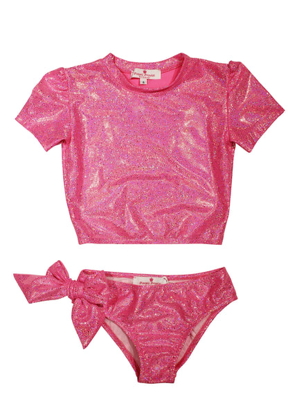 Martinica Two-Piece Swimsuit - Glitter Pink