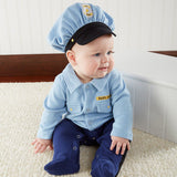 Baby Officer Layette Set in Themed Gift Box