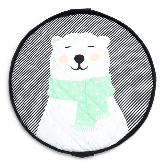Play & Go - Soft Playmat and Storage Bag - Polar Bear