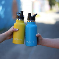 Small Montii Insulated Water Bottle - Blue