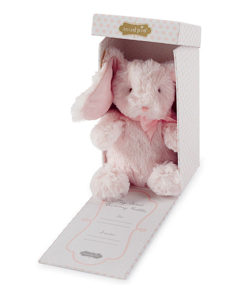 Pink My First Bunny Plush Toy