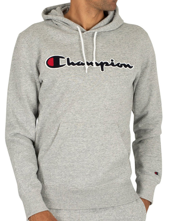 Champion Script Logo Cotton Terry Hoodie