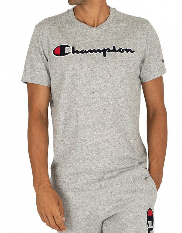 Champion Script Logo Crew Neck T-Shirt