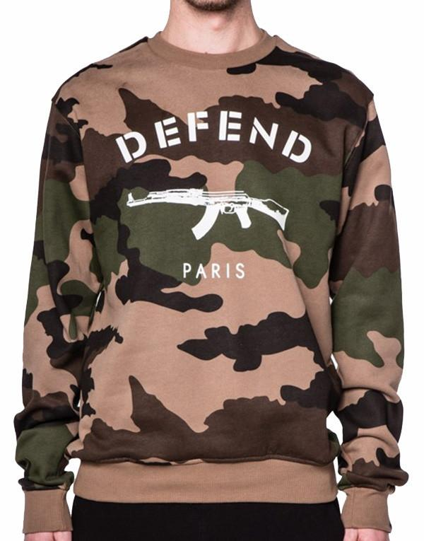Defend Paris Paris Crew Sweater hos Stillo