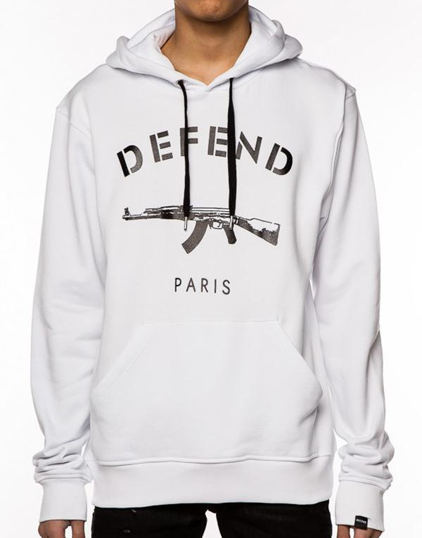 Defend Paris Paris Hood Hoodie hos Stillo