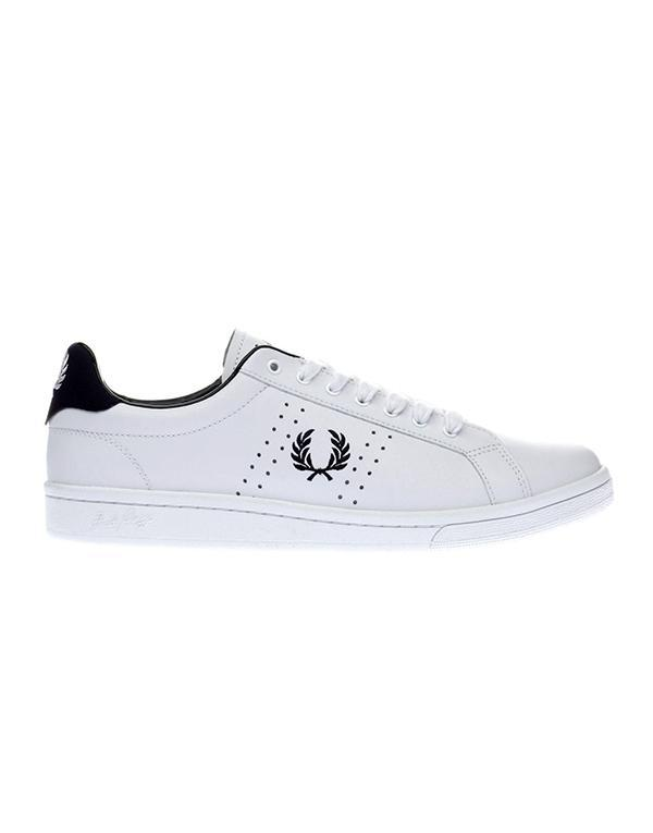 Fred Perry Authentic Leather Trainers hos Stillo