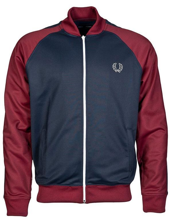 Fred Perry Bomber Track Jacket hos Stillo