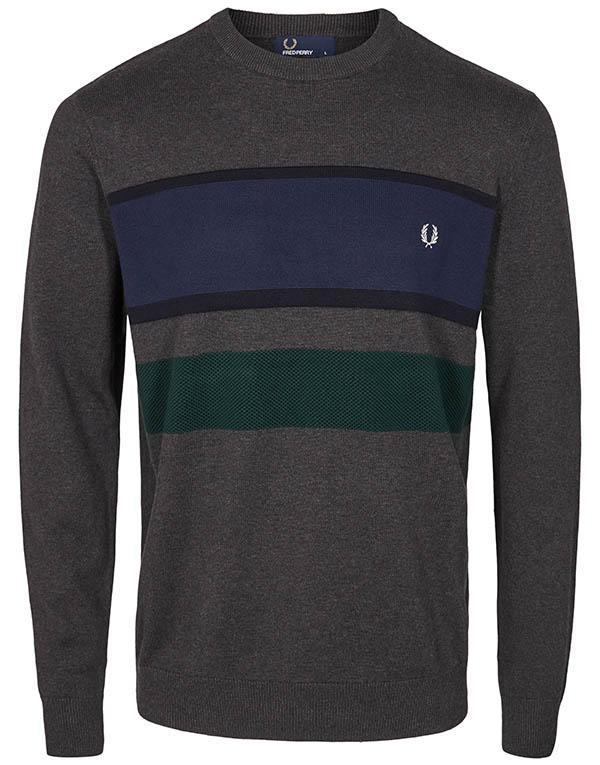 Fred Perry Crewneck Jumper hos Stillo