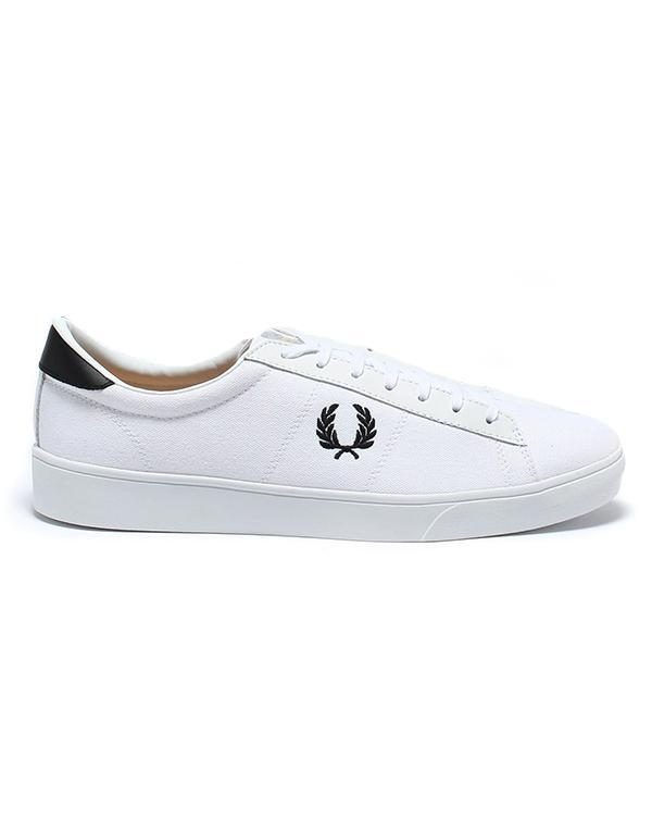 Fred Perry Spencer Canvas Trainers hos Stillo