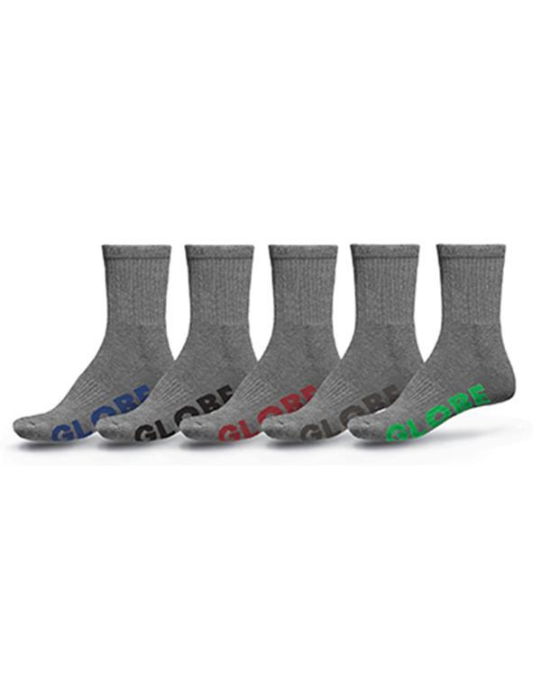 Globe Stealth Crew 5 Pack Socks hos Stillo