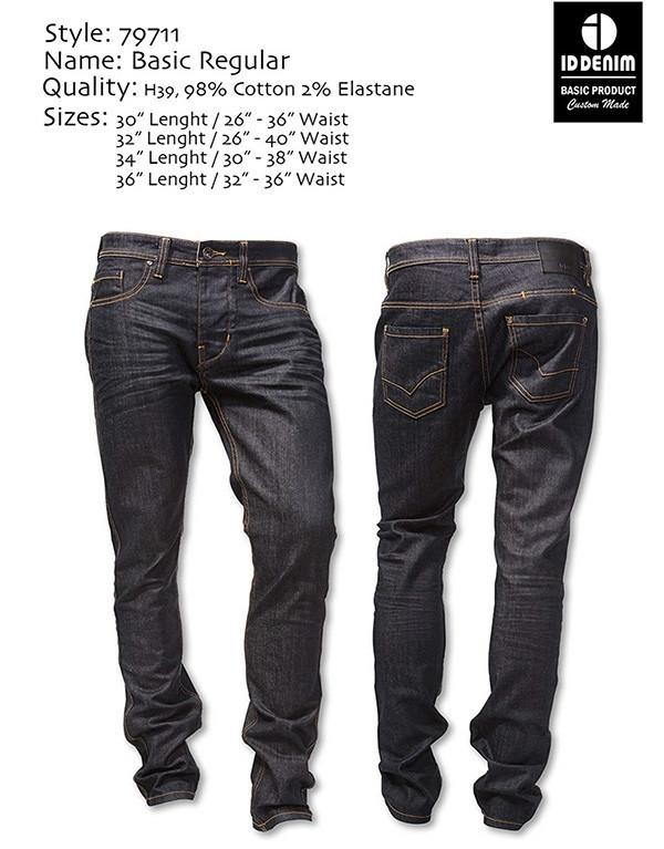 ID Denim Basic Regular H39 Jeans hos Stillo