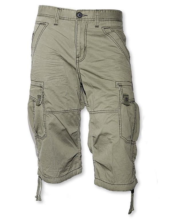 ID Denim Cargo Twill Shorts hos Stillo