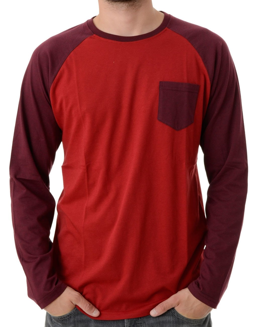 Iriedaily Baseball Pocket LS T-Shirt hos Stillo