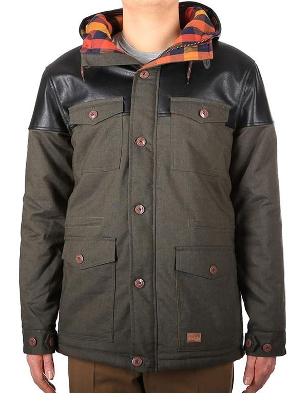Iriedaily Dock36 Winter Parka Jacket hos Stillo