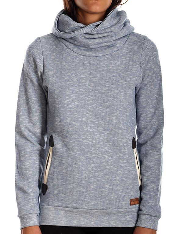 Iriedaily Ladies Cusky Turtle Hoodie hos Stillo