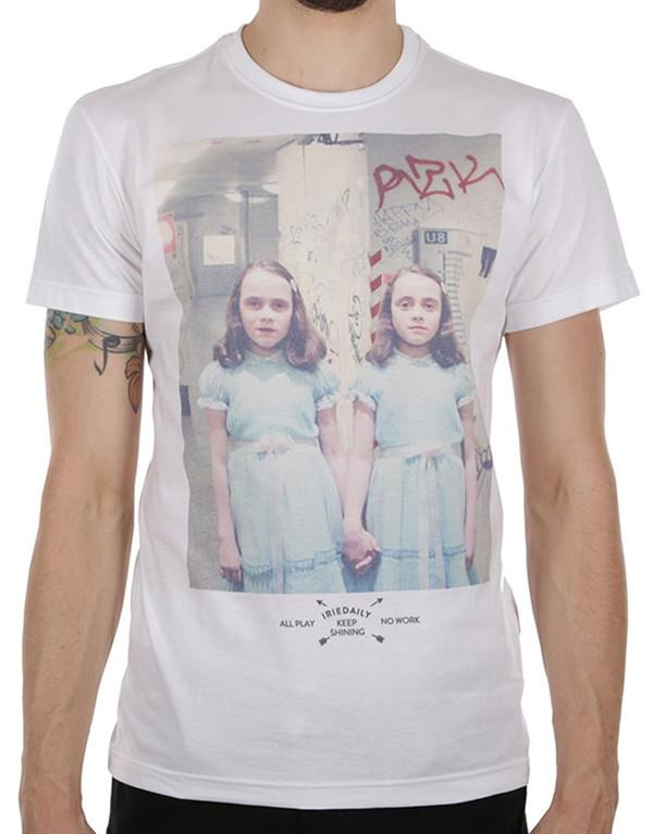 Iriedaily Scary Twins T-Shirt hos Stillo