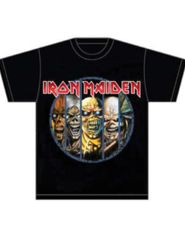 Iron Maiden Eddie Evolution T-Shirt hos Stillo