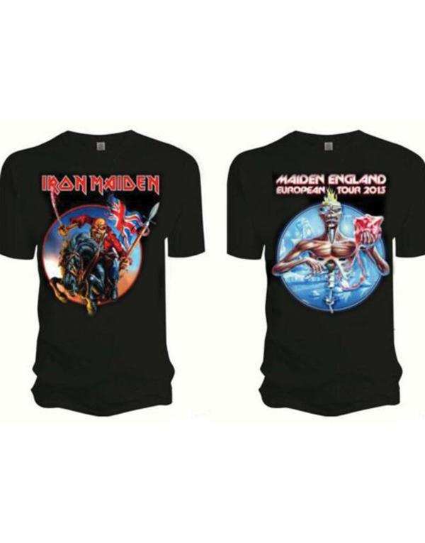 Iron Maiden Euro Tour T-Shirt hos Stillo