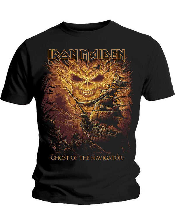 Iron Maiden Ghost Of The Navigator T-Shirt