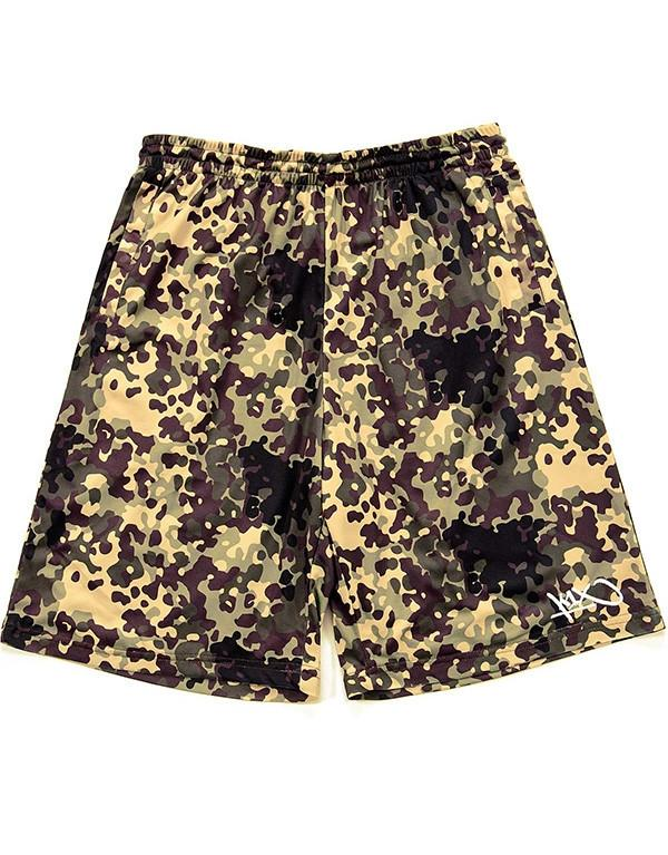 K1X Gnarly Flecktarn Camo Shorts hos Stillo