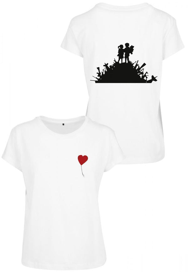 Merchcode Ladies Banksy Love Tee