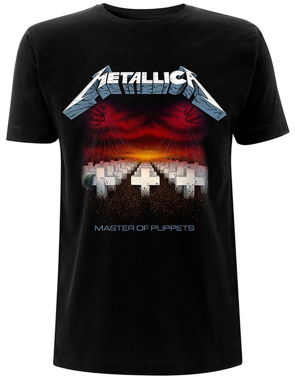 Metallica Master Of Puppets Tracks T-Shirt